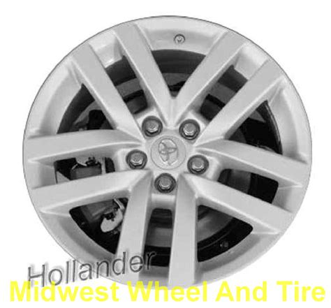 Oem Toyota Wheels Toyota 75161s Oem Wheel 4e 185 Oem Original Alloy Wheel