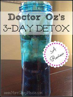Dr Oz 3 Day Detox Does It Work by Dr Oz Detox On Colon Cleanse Drinks 3 Day