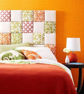 patchwork headboard canvas headboard diy things to make and do