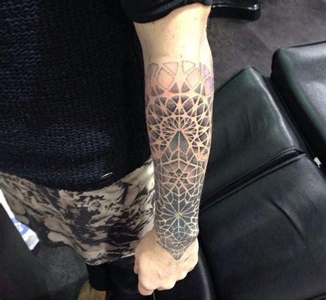 dotwork arm tattoo dotwork sleeve tattoos pinterest sleeve