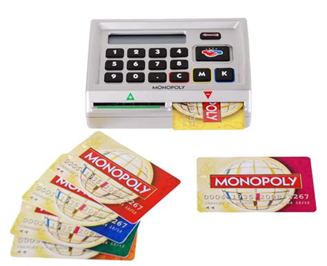 monopoly bank card monopoly here and now world toys