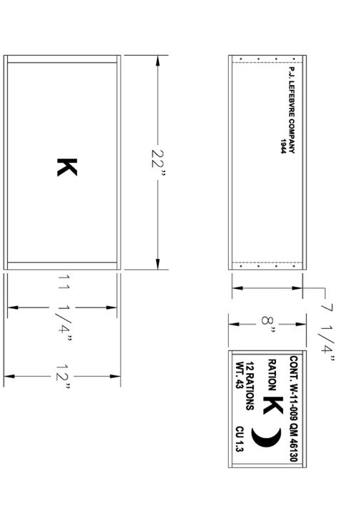 Home Free k ration crate instructions g i jive re enactor s page