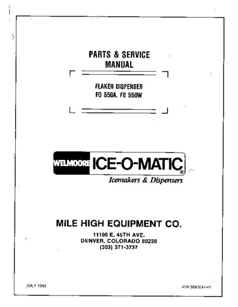 Ice Maker Users Guides Quot Ice Maker Quot Page 5