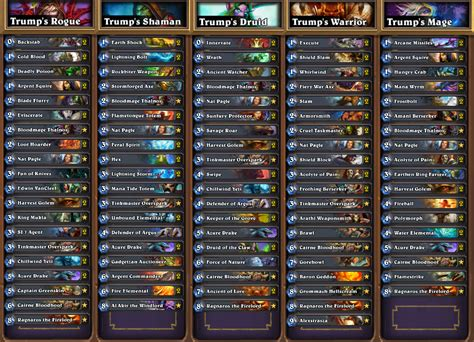 hearthstone shaman deck hearthstone news all decklists from seatstory cup