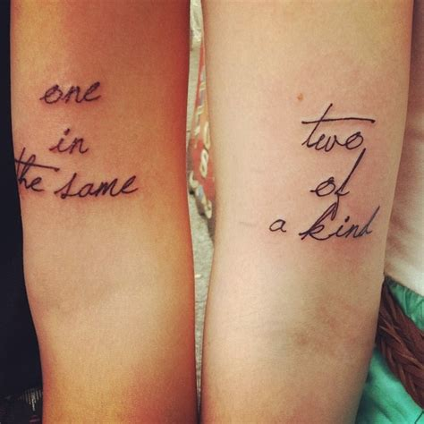 unique matching tattoos matching cousin tattoos designs ideas and meaning