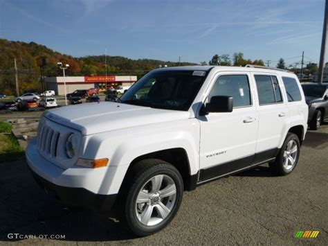 jeep patriot 2017 white 2017 bright white jeep patriot latitude 4x4 116432986