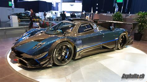 The Gallery For Gt Pagani Zonda Revolucion Blue