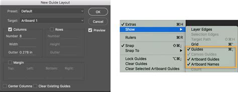 guide layout illustrator use artboards in adobe photoshop