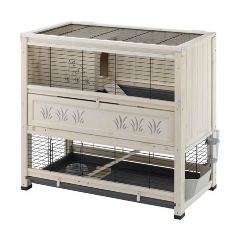 Rabbit Hutch Tray cheap indoor rabbit hutch large with pull out tray white
