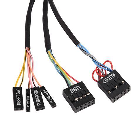 Kabel Sambungan Adaptor Laptop dual usb 1 5m kabel hub adapter mit laptop computer pc