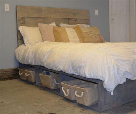 rustic platform bed affordable rustic wood platform bed for unique bedroom