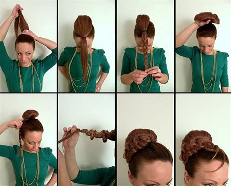style hair how to style hair in a practical and elegant way
