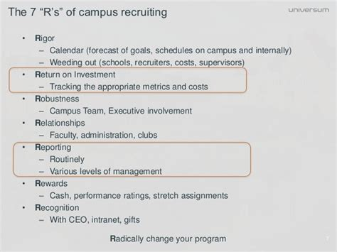Executive Mba Georgetown Cost by Getting A Return On Investment From Cus Recruiting