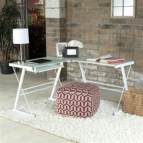 we furniture glass metal corner computer desk we furniture glass metal corner computer desk import it all