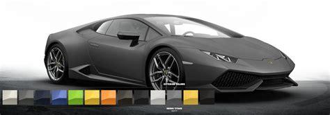 Lamborghini Huracan Colors Lamborghini Huracan Configurator Brings Five Matt Colors