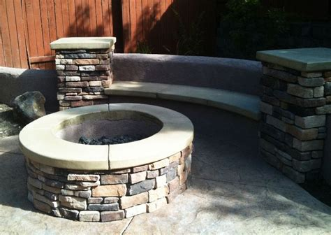 fire pit benches with backs 73 best take it outside images on pinterest home ideas