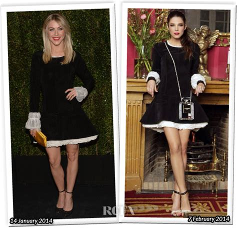 Who Wore Chanel Better by Who Wore Chanel Better Julianne Hough Or Juana Acosta