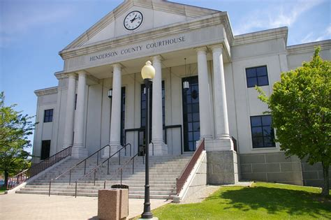 henderson county  courthouses
