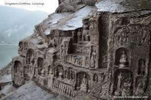 Single Story Home travel photo luoyang longmen grottoes art carving