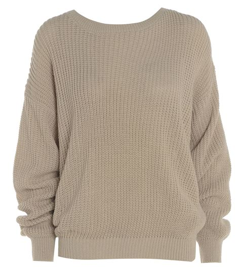 knit jumper womens oversized baggy knitted jumper chunky