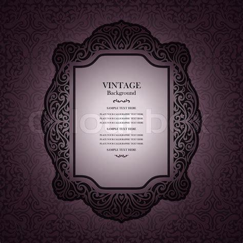 elegant layout book vintage background design elegant book cover victorian