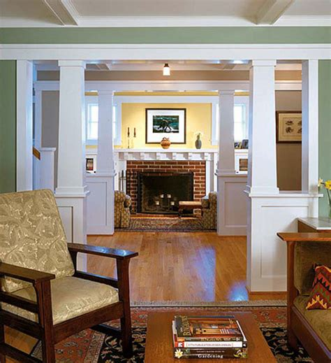craftsman style home interiors woodwork finishes for the craftsman home arts crafts