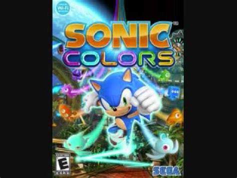 sonic colors soundtrack sonic colors