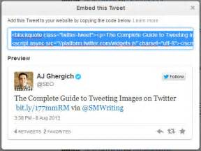 Step 2 hover over your tweet on twitter when you do this a