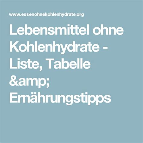 eiweißhaltige lebensmittel tabelle 10 ideen zu kohlenhydrate tabelle auf di 228 t