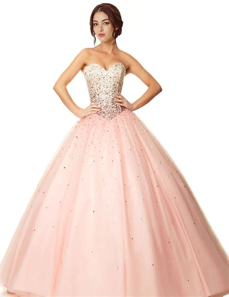 Labella Pink Top Dress 2015 selling light pink quinceanera dresses sweetheart