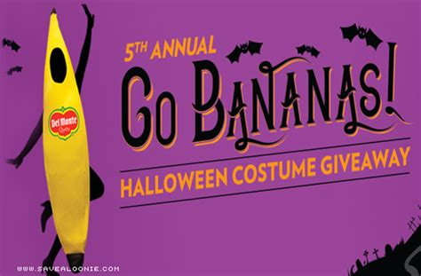 Halloween Costume Giveaway - del monte halloween costume giveaway