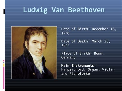 beethoven biography date of birth famous piano players and composers of the 18th and 19th