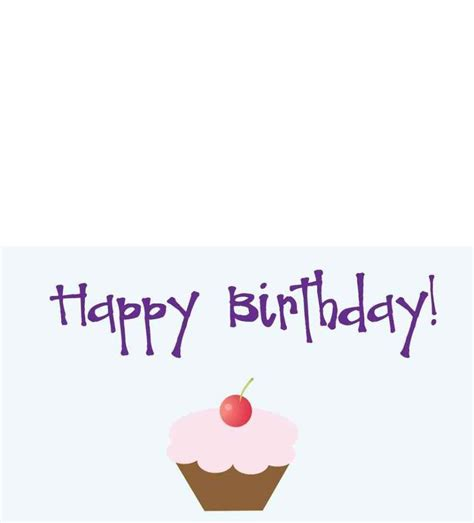 free printable birthday cards no download template