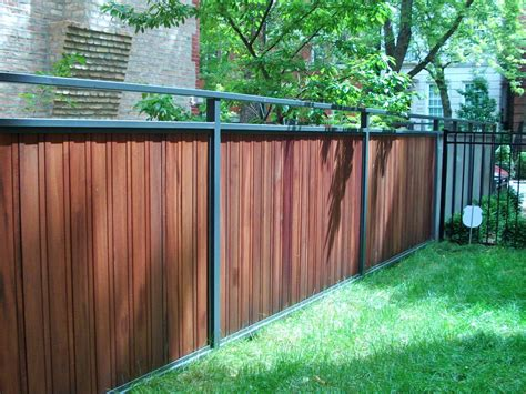 wood and metal fence franco steel porches wood and wrought iron fences and