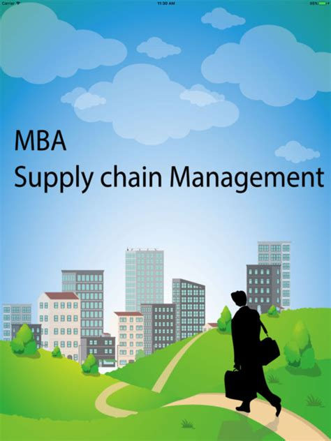 Of Houston Downtown Mba Supply Chain by Mba Scm Supply Chain Management On The App Store