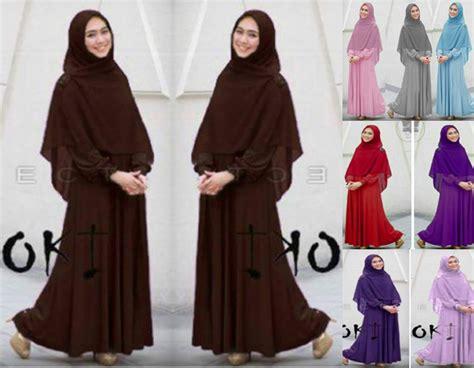 Aisyah Azzahra Syari Mint Baju Muslim 100 baju muslim maxi butik ahzaku aisyah syari by