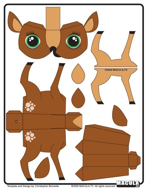 printable animal figures 127 best images about paper toy printables on pinterest