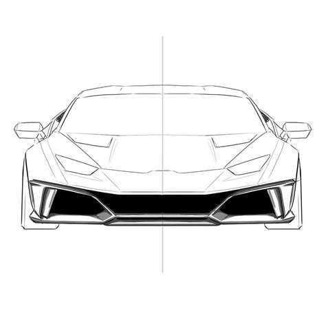 lamborghini huracan sketch duke dynamics offer limited carbon wide body kit for