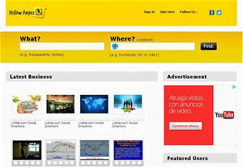 Yellow Book Search Yellow Pages Directory Ebay