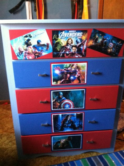 avengers bedroom furniture avengers dresser how i entertain myself pinterest