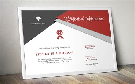 diploma design inspiration script triangle certificate design stationery templates