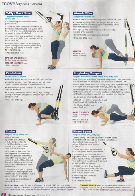 best 25 trx workout pdf ideas on