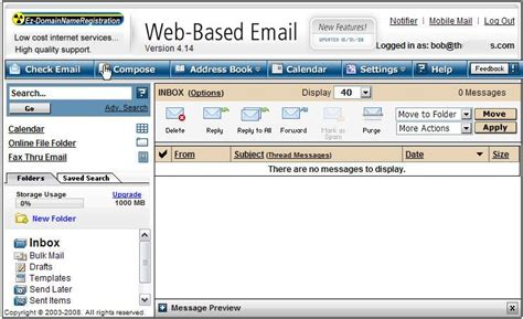 email web image gallery web based email