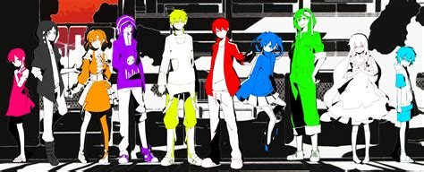 kagerou project mekakushi dan colors wallpaper and background image