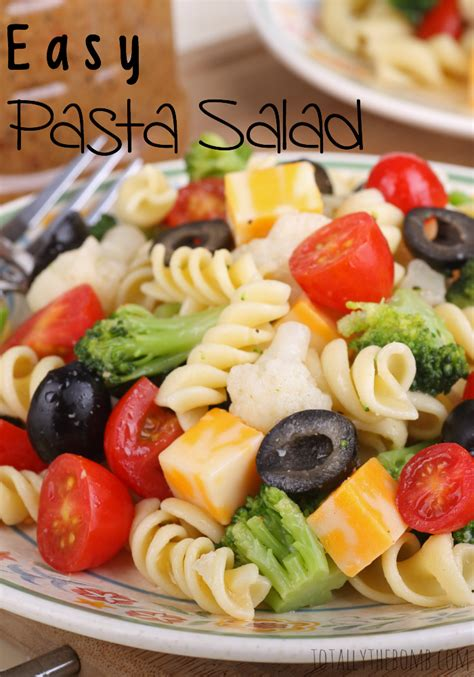 easy cold pasta salad easy pasta salad