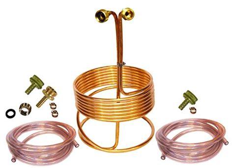 Wort Chiller Faucet Adapter 12 Off Homebrewstuff 25 Copper Immersion Wort Chiller