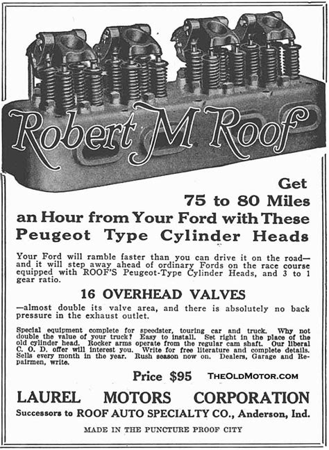 Model T Ford Speed and Racing Equipment Part II – The