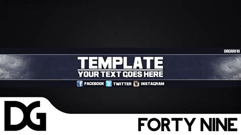 cool channel templates cool channel template 49 free photoshop