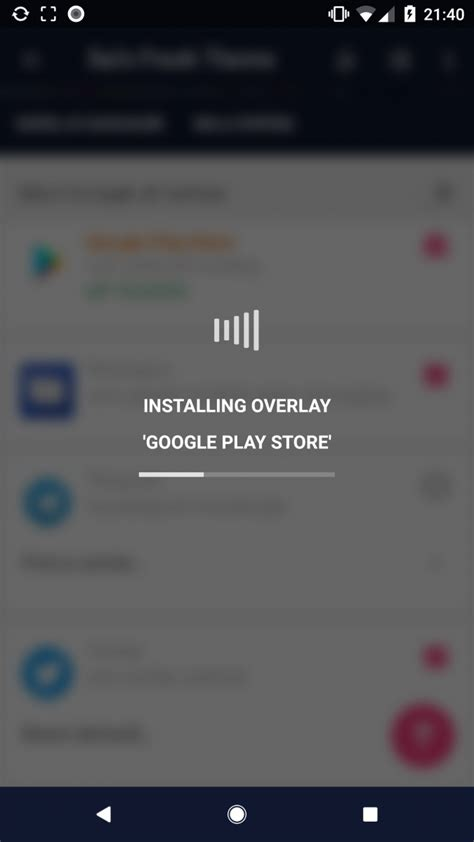 play store themes xda how to install a dark theme on android oreo without root