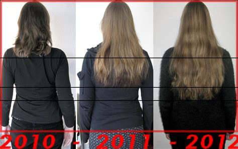 hair grow a darker kind of fashion two years of growing my hair long